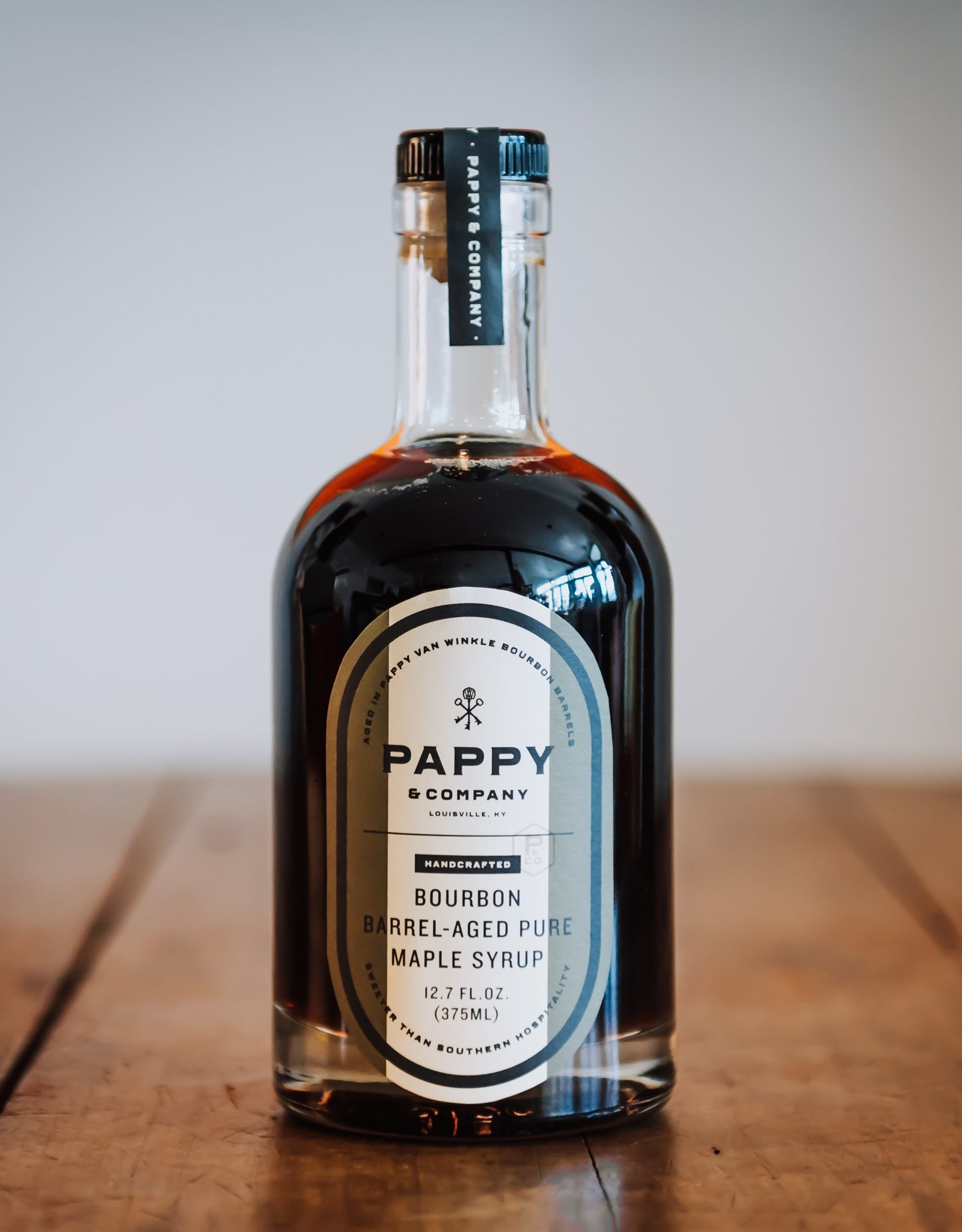 Bourbon Barrel-Aged Pure Maple Syrup