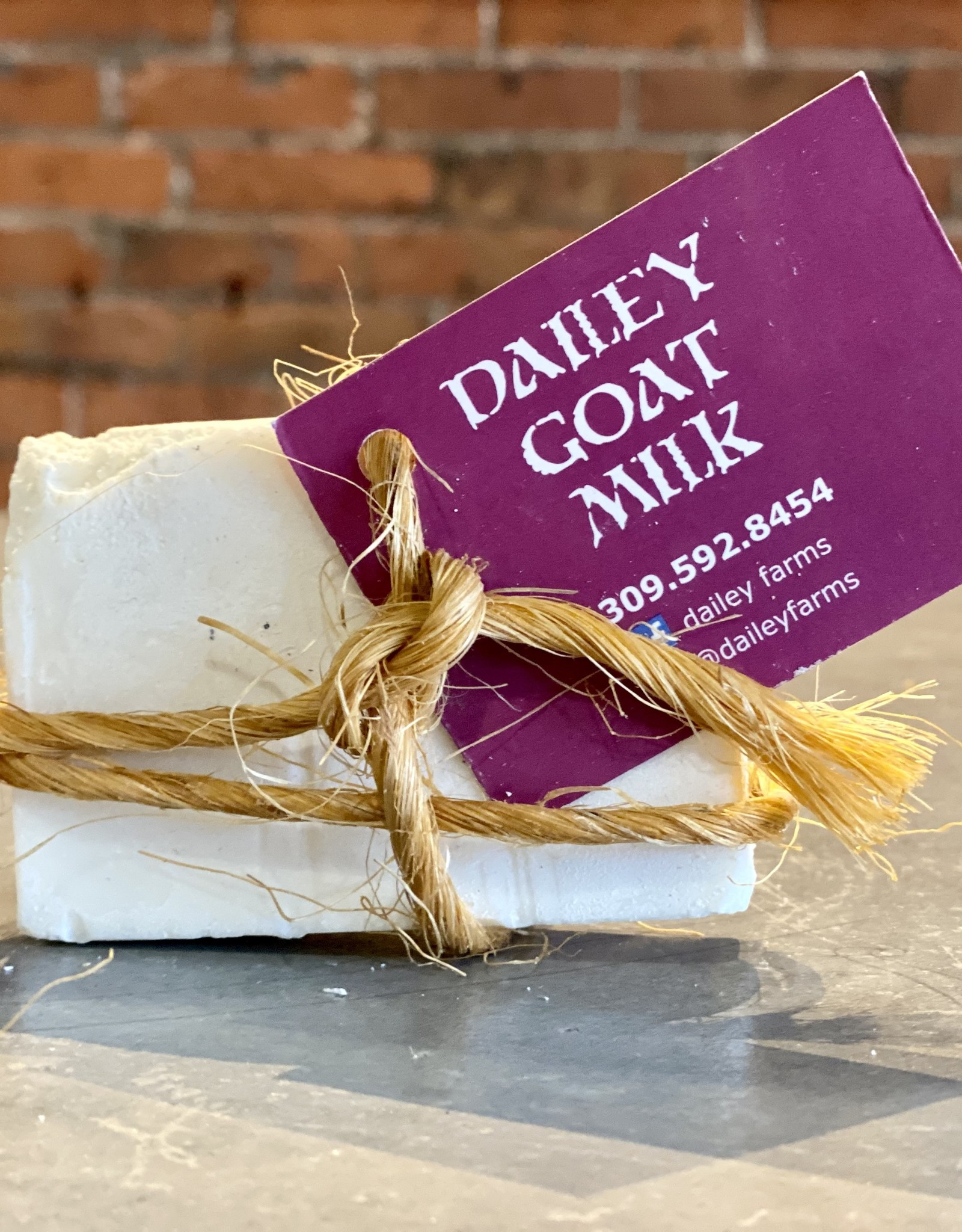 Dailey Farms Goat Milk Unscented Soap