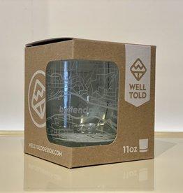 Bettendorf Rocks Glass