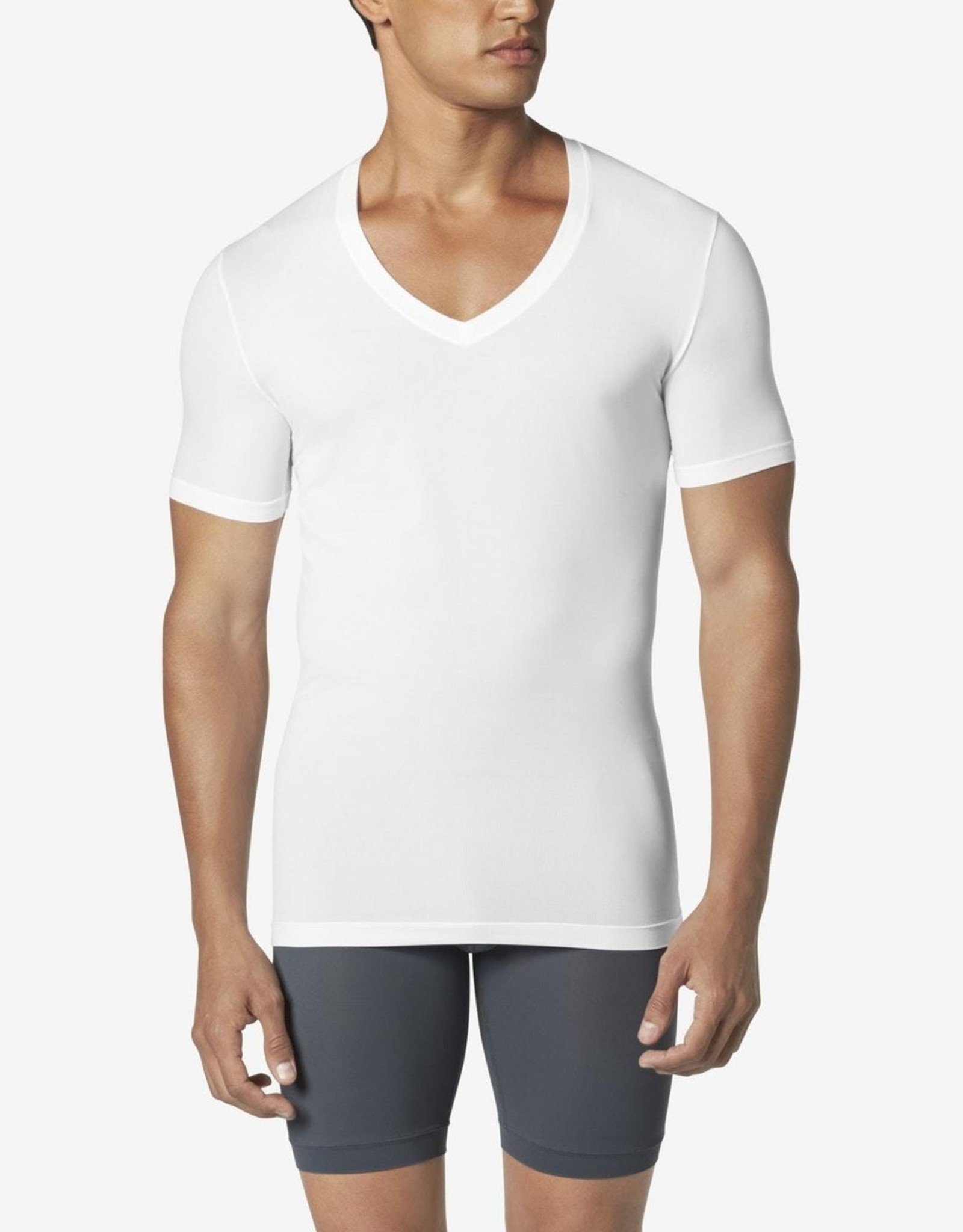 Tommy John Second Skin Deep V Neck Undershirt