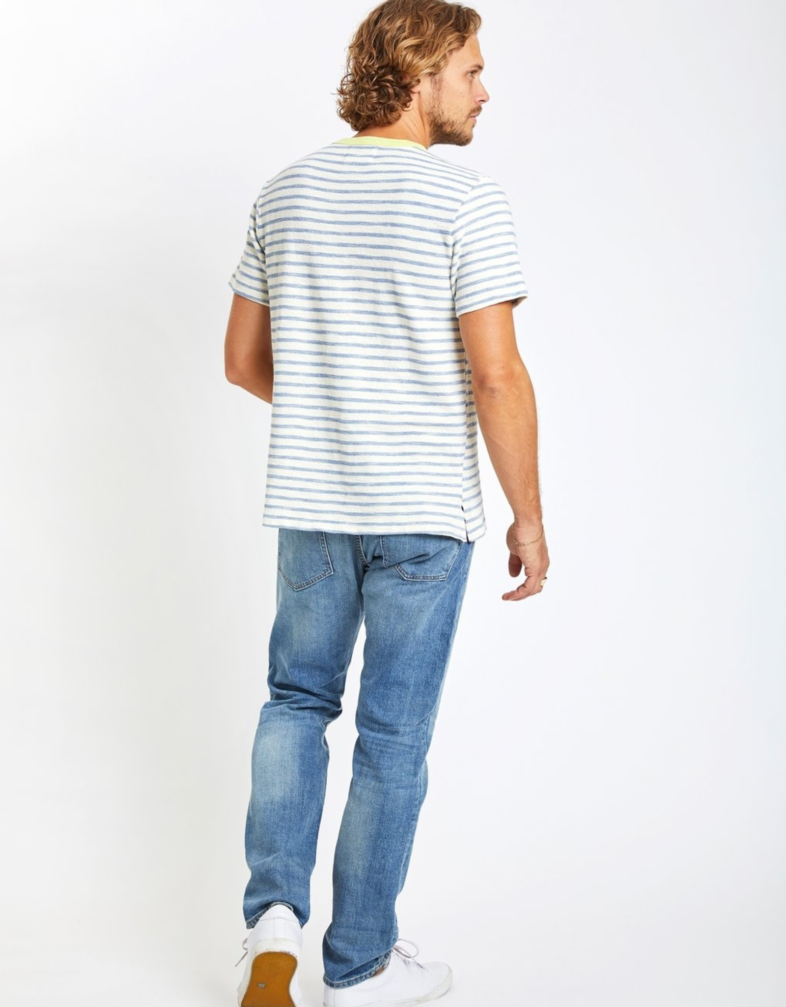 Catalina Stripe Crew Tee