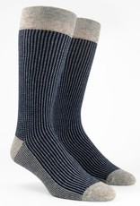 Micro Houndstooth Dress Socks