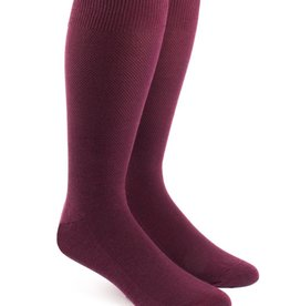 Solid Texture Dress Socks