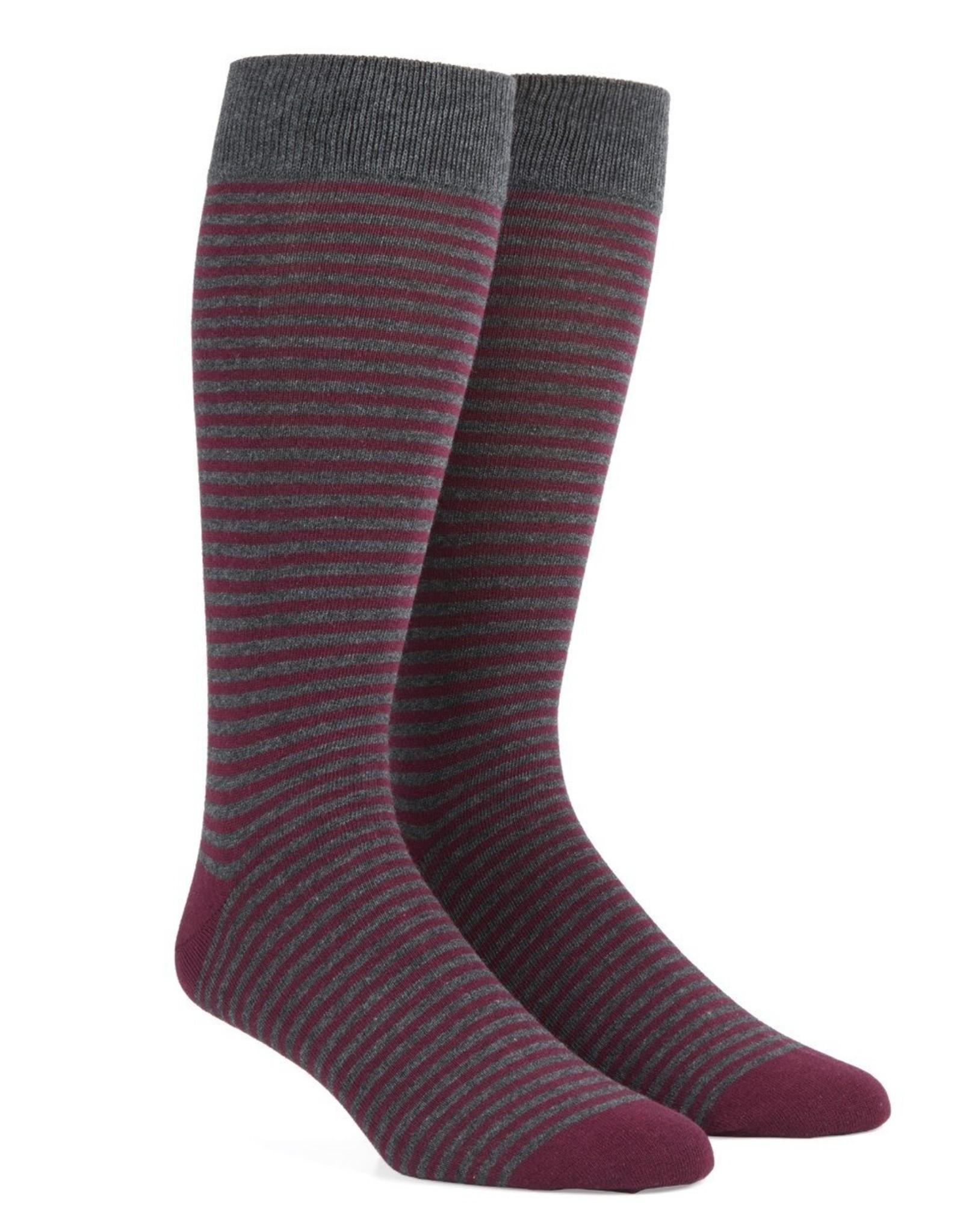 Thin Stripes Dress Socks