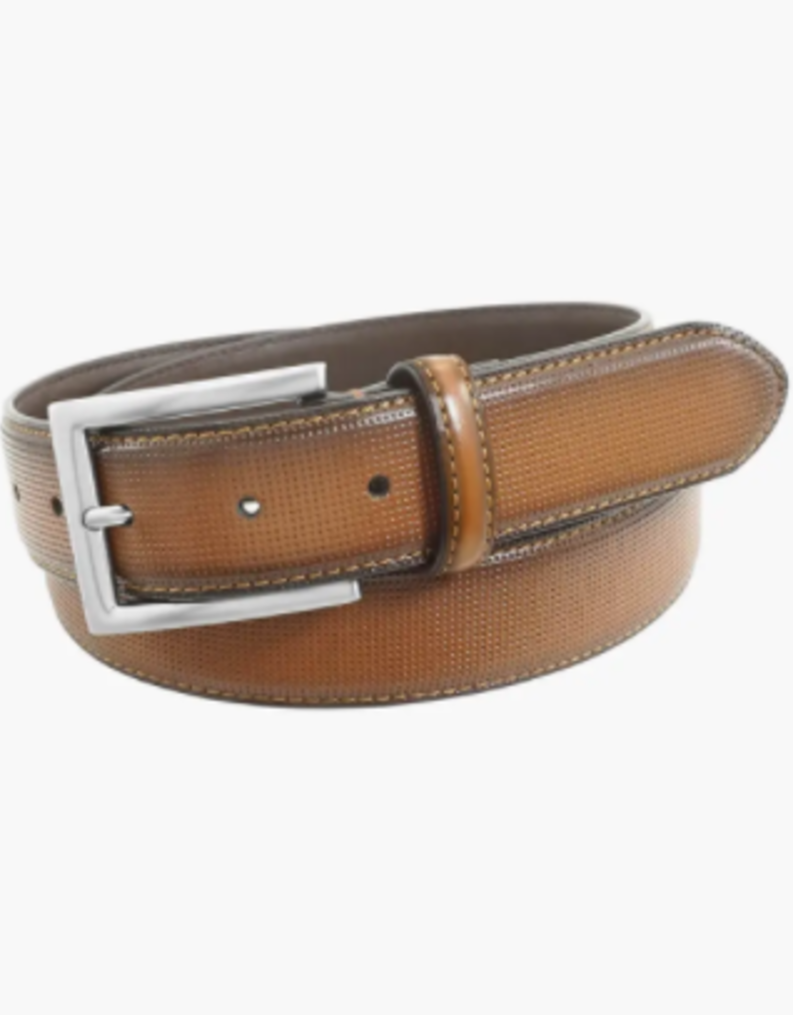 SINCLAIR Perf Leather Belt