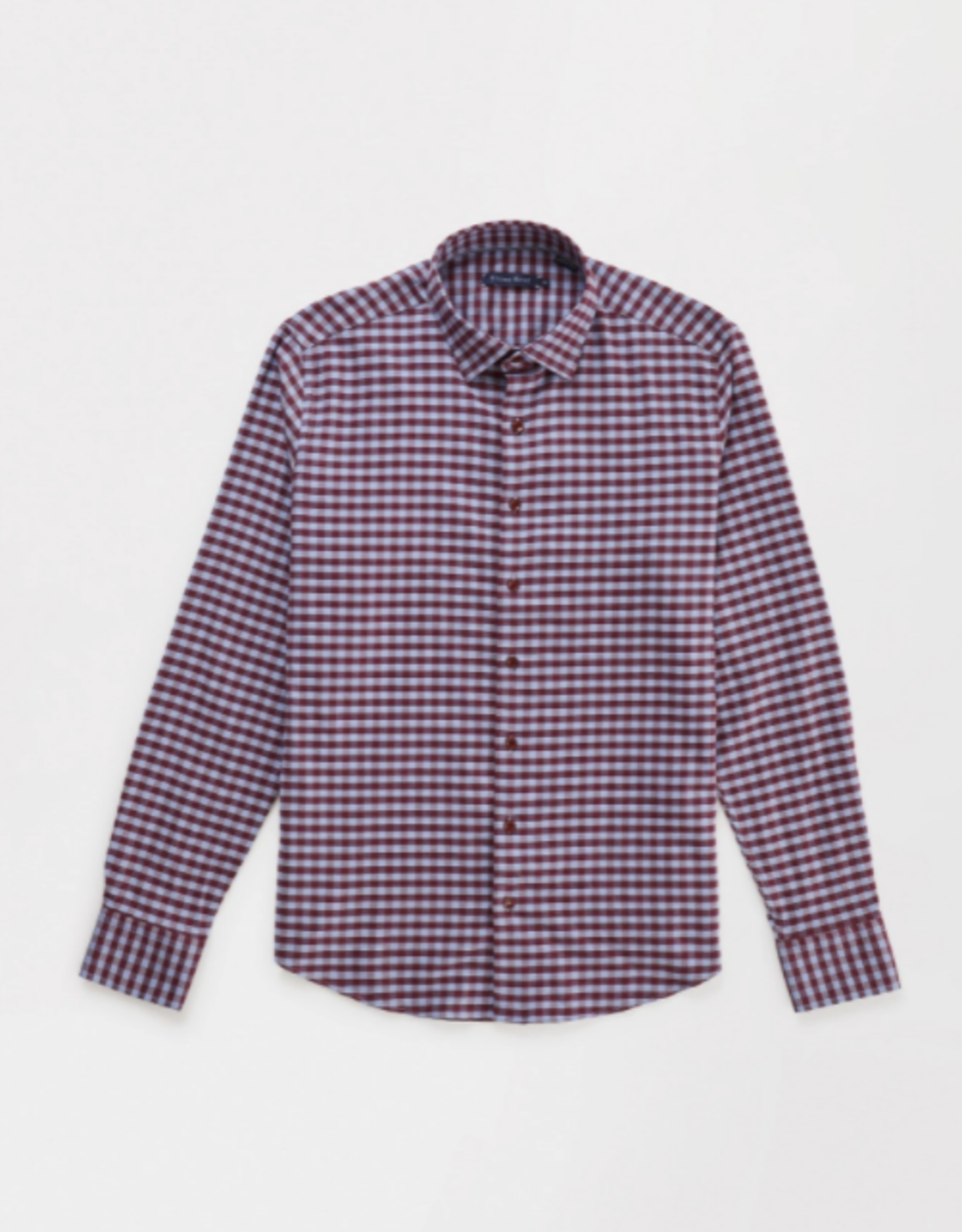Long Sleeve Knit Brushed Woven