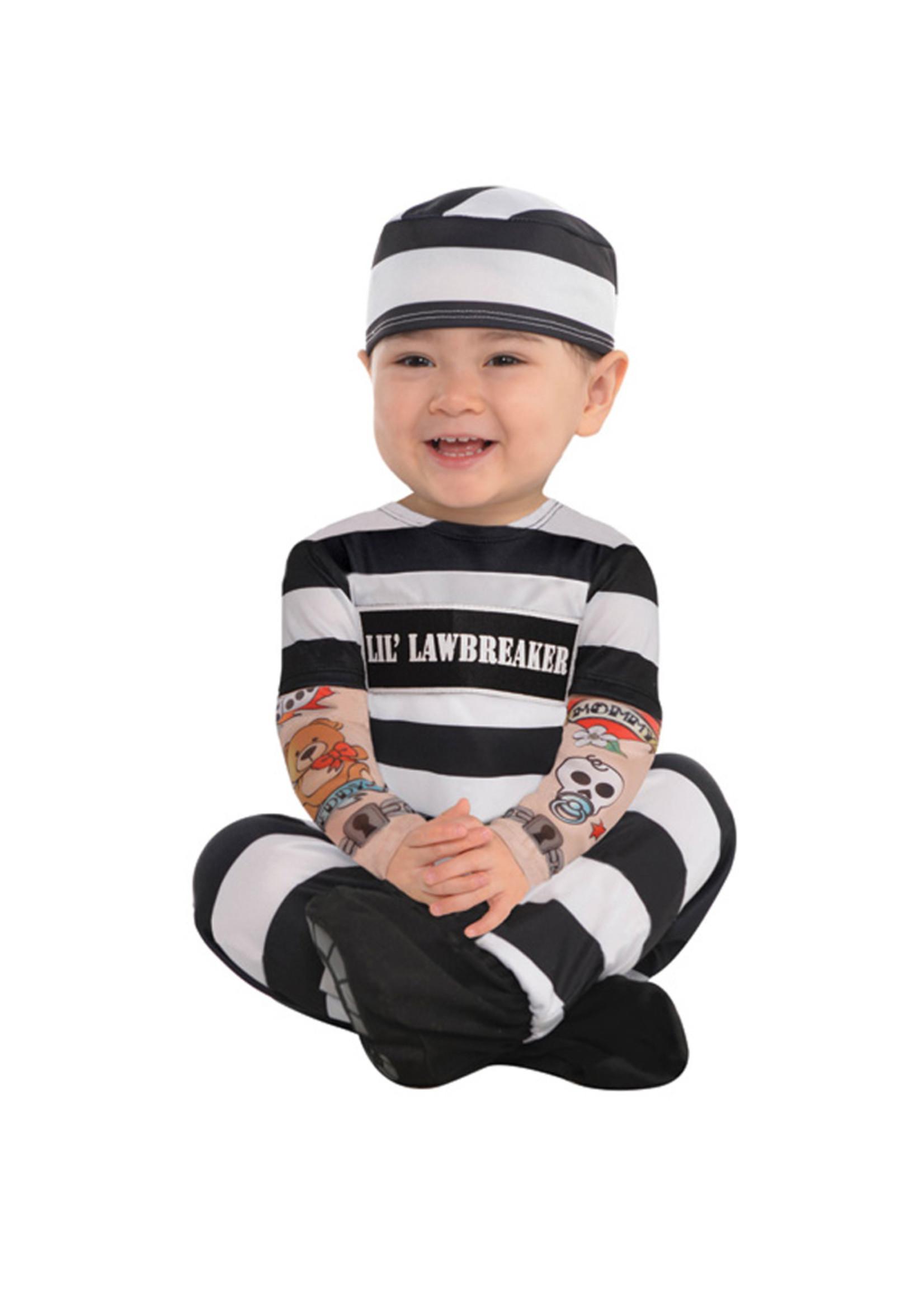 Lil' Law Breaker Costume - Infant