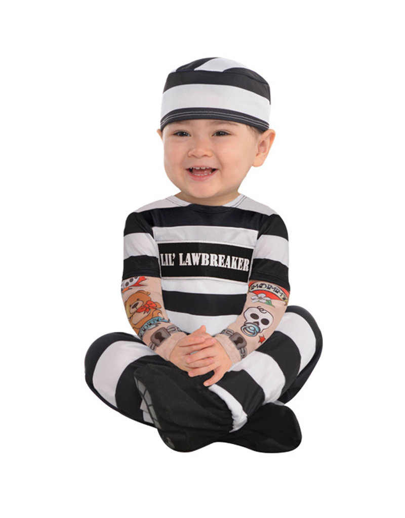 Lil' Law Breaker Costume - Infant