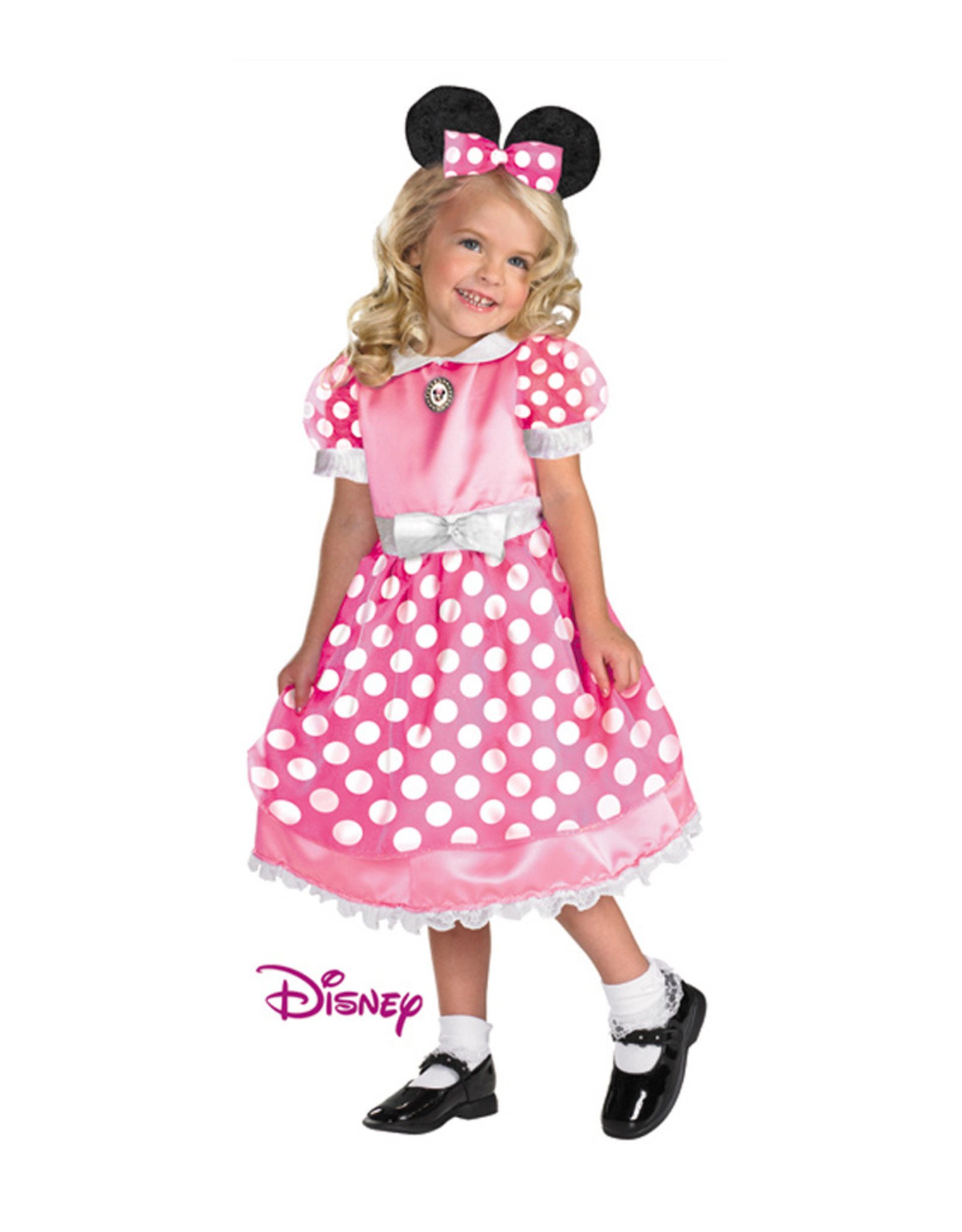 Pink Minnie Mouse Costume - Toddler