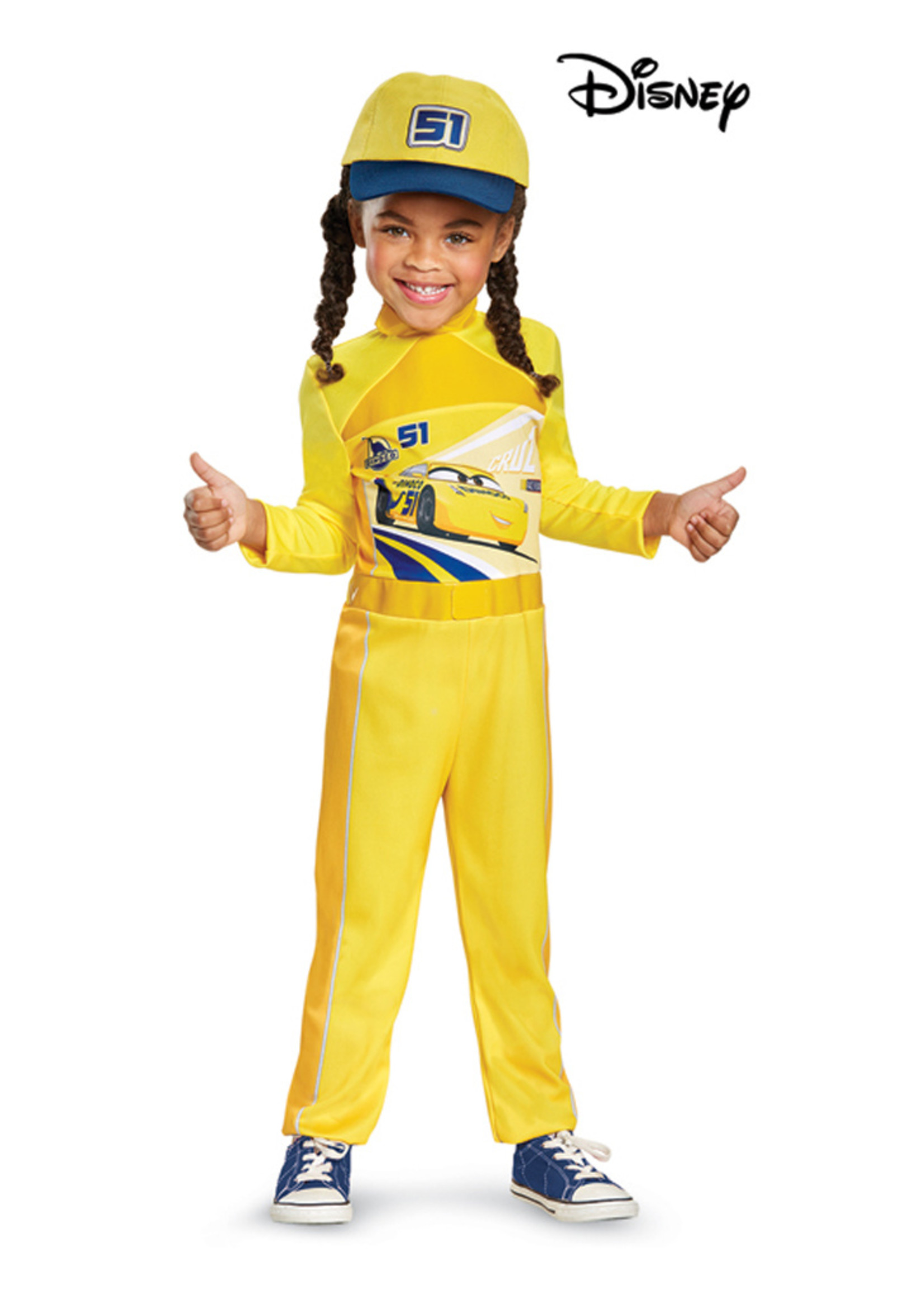 Cruz - Cars 3 Costume - Toddler