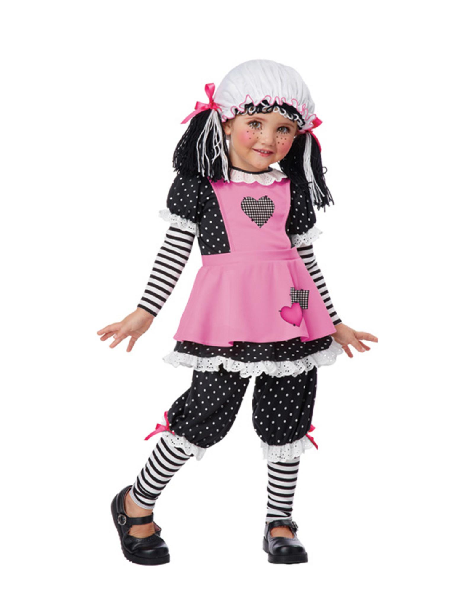 Rag Dolly Costume - Toddler