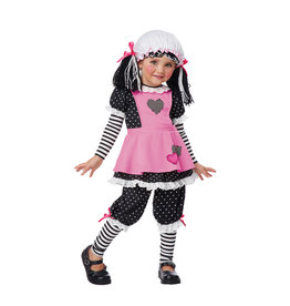 Rag Dolly Costume - Toddler