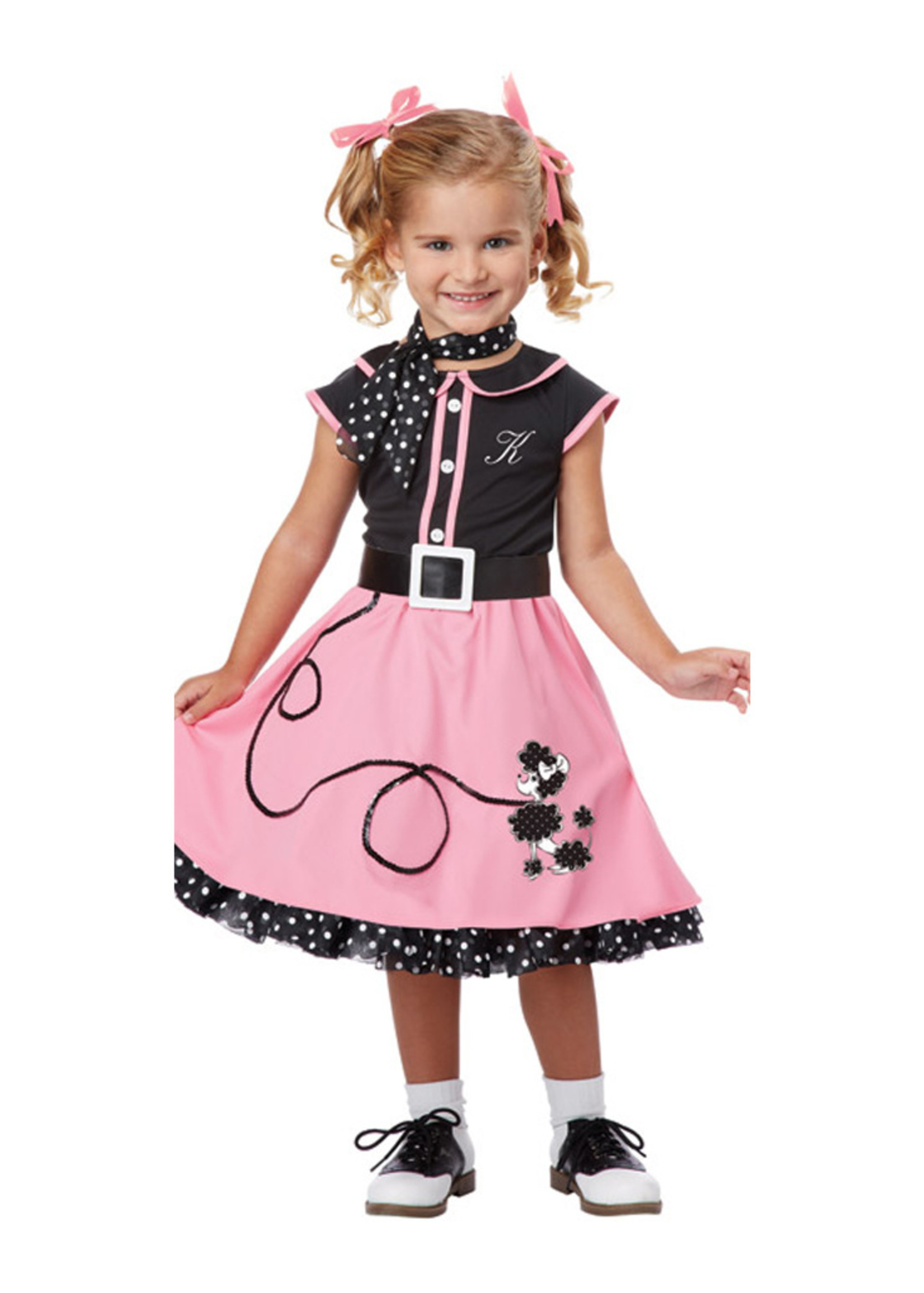 50's Poodle Cutie Costume - Toddler