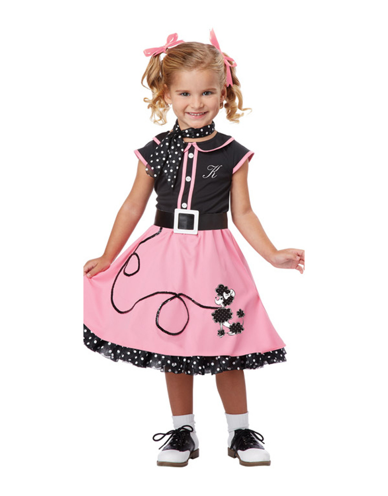 50's Poodle Cutie Costume - Toddler