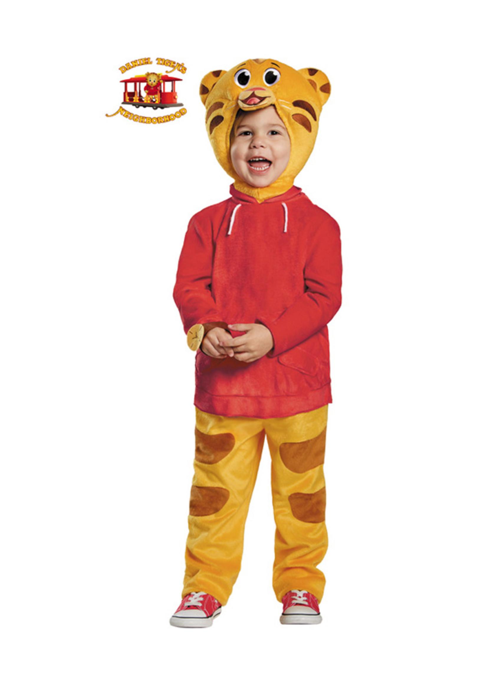 Daniel Tiger Deluxe Costume - Toddler