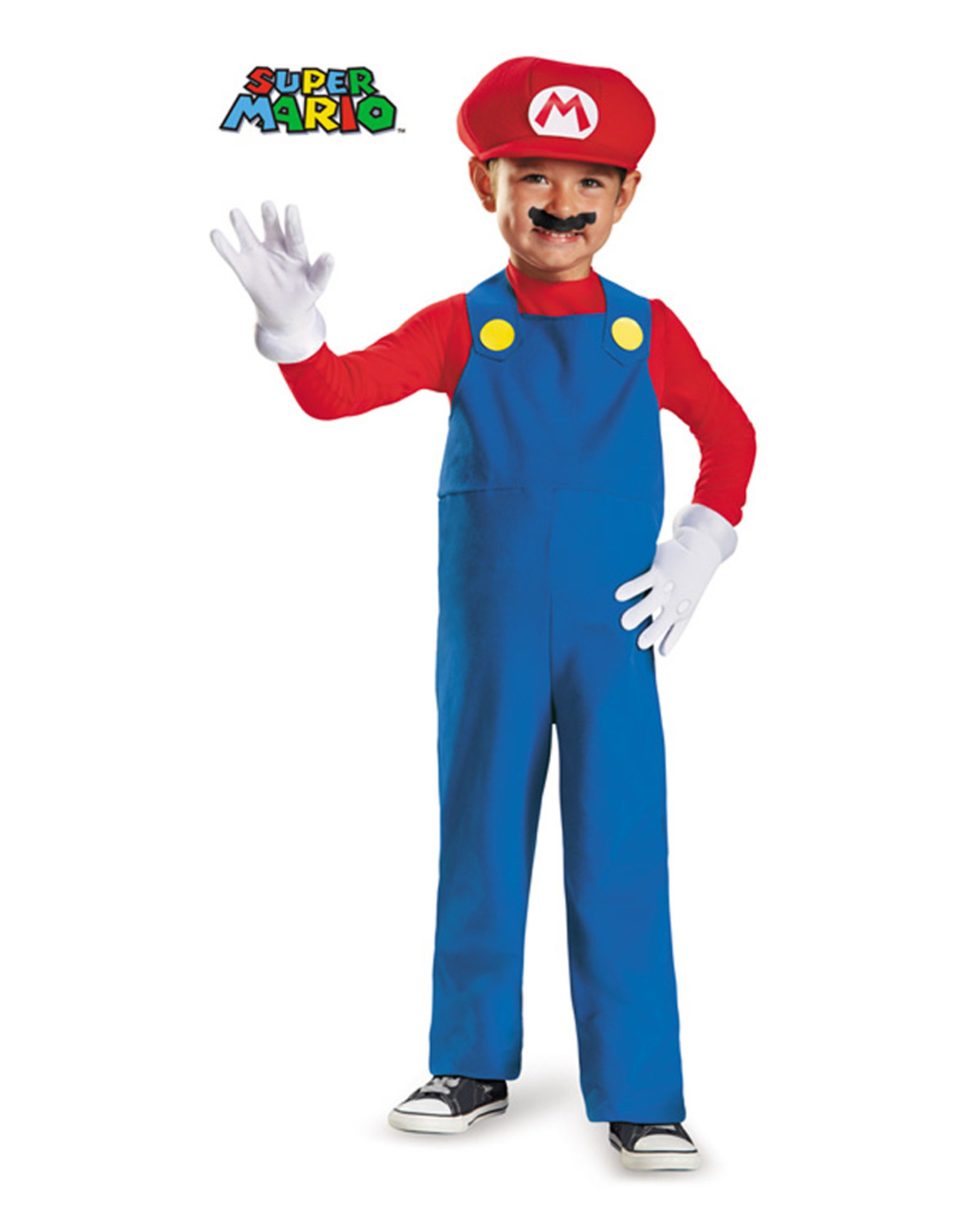 Mario Deluxe Costume - Toddler