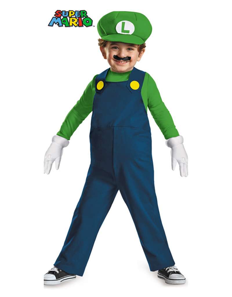 Luigi Deluxe Costume - Toddler