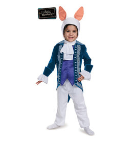 White Rabbit Alice & Wonderland Costume - Toddler