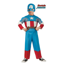 Captain America Deluxe Costume - Toddler