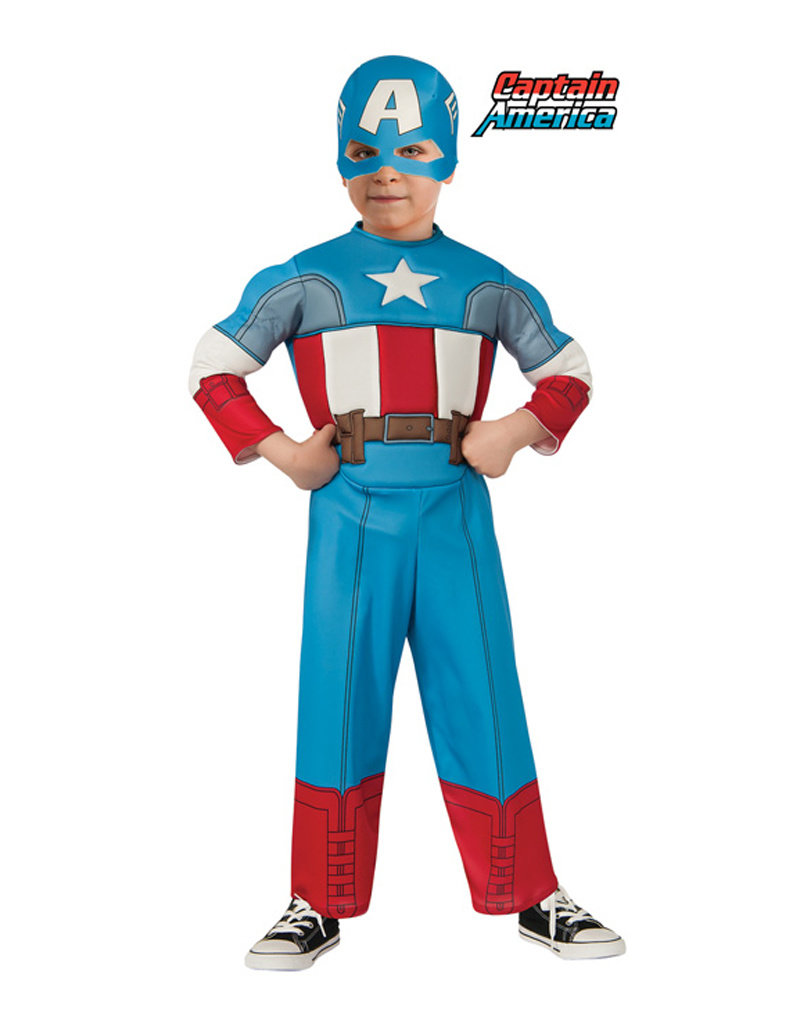 Captain America Deluxe Costume - Toddler