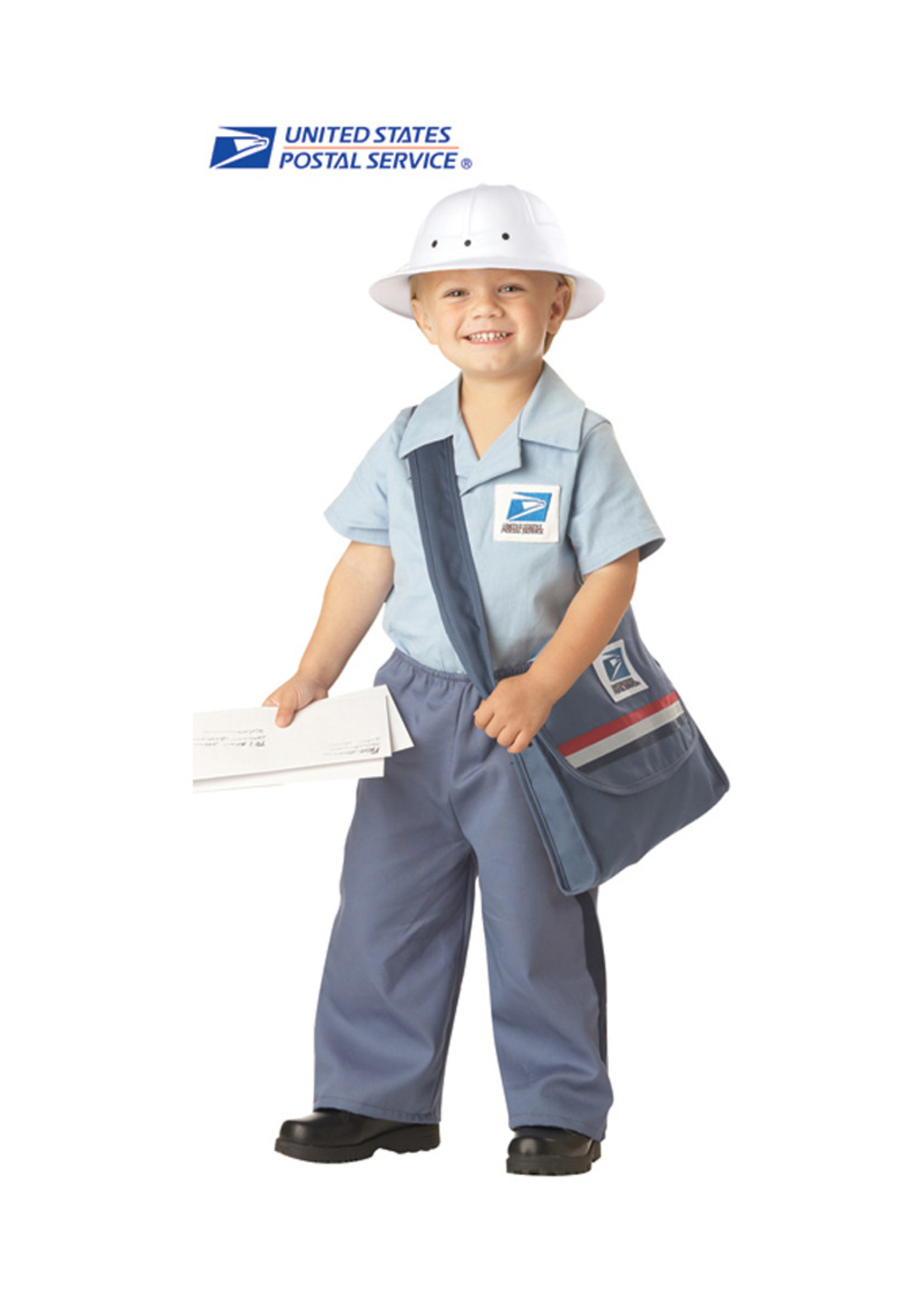 US Mail Carrier Costume - Toddler