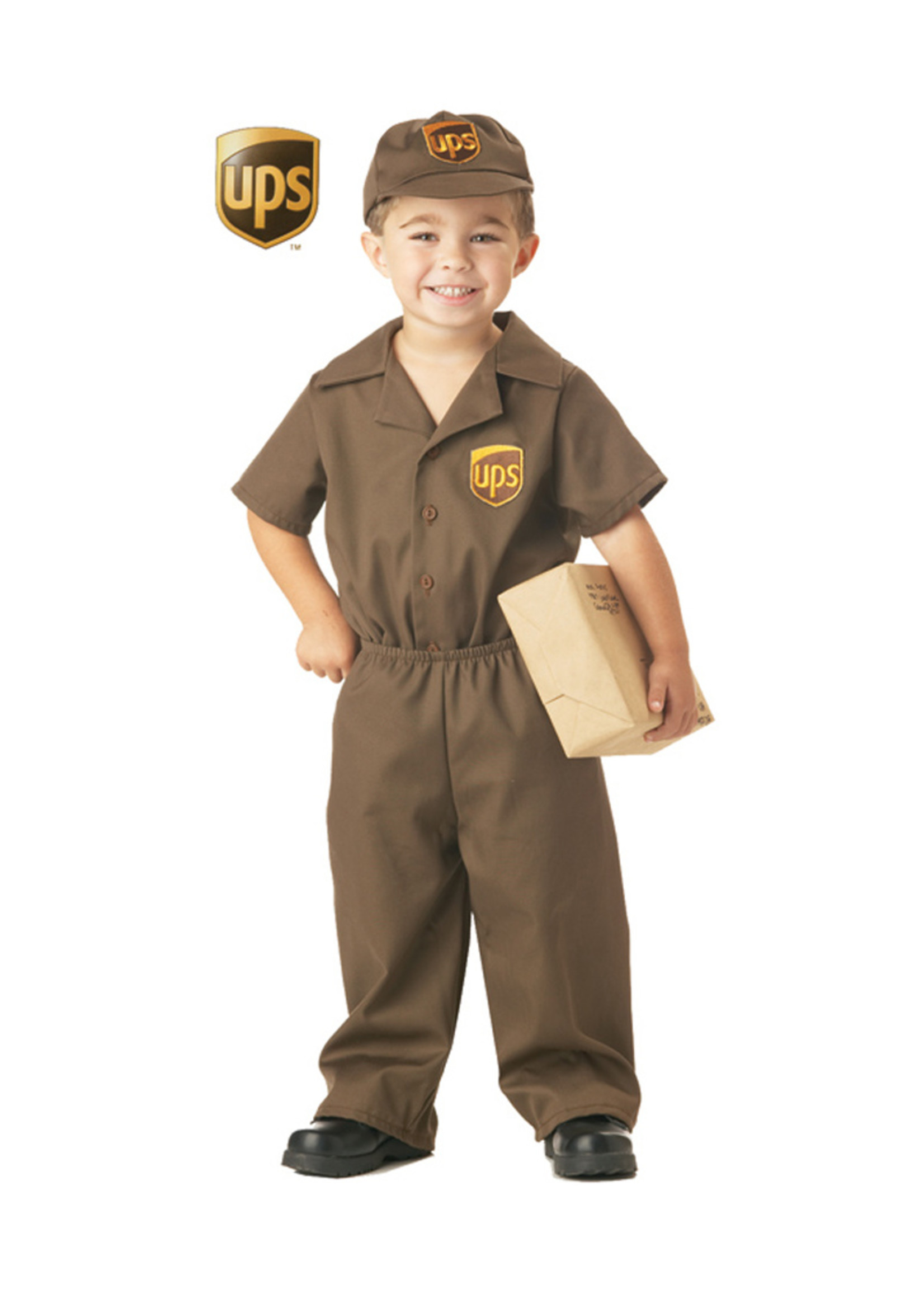 UPS Driver Costume - Toddler