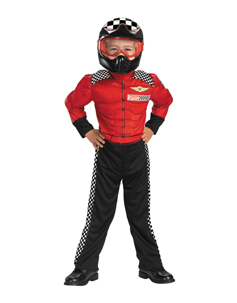 Turbo Racer Deluxe Costume - Toddler