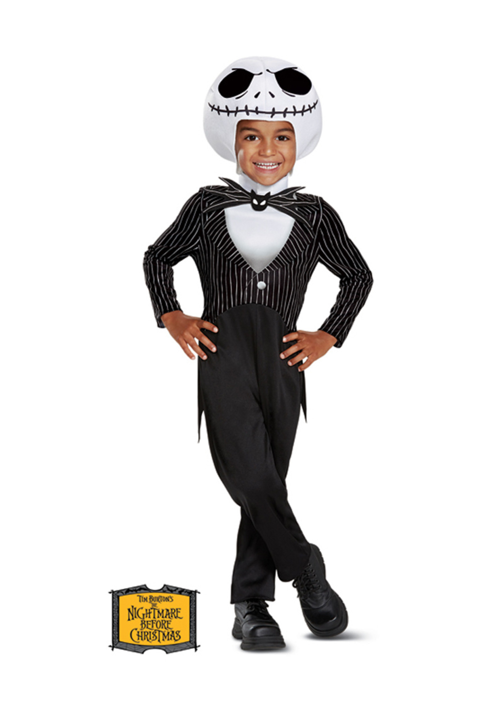 Jack Skellington Costume - Toddler