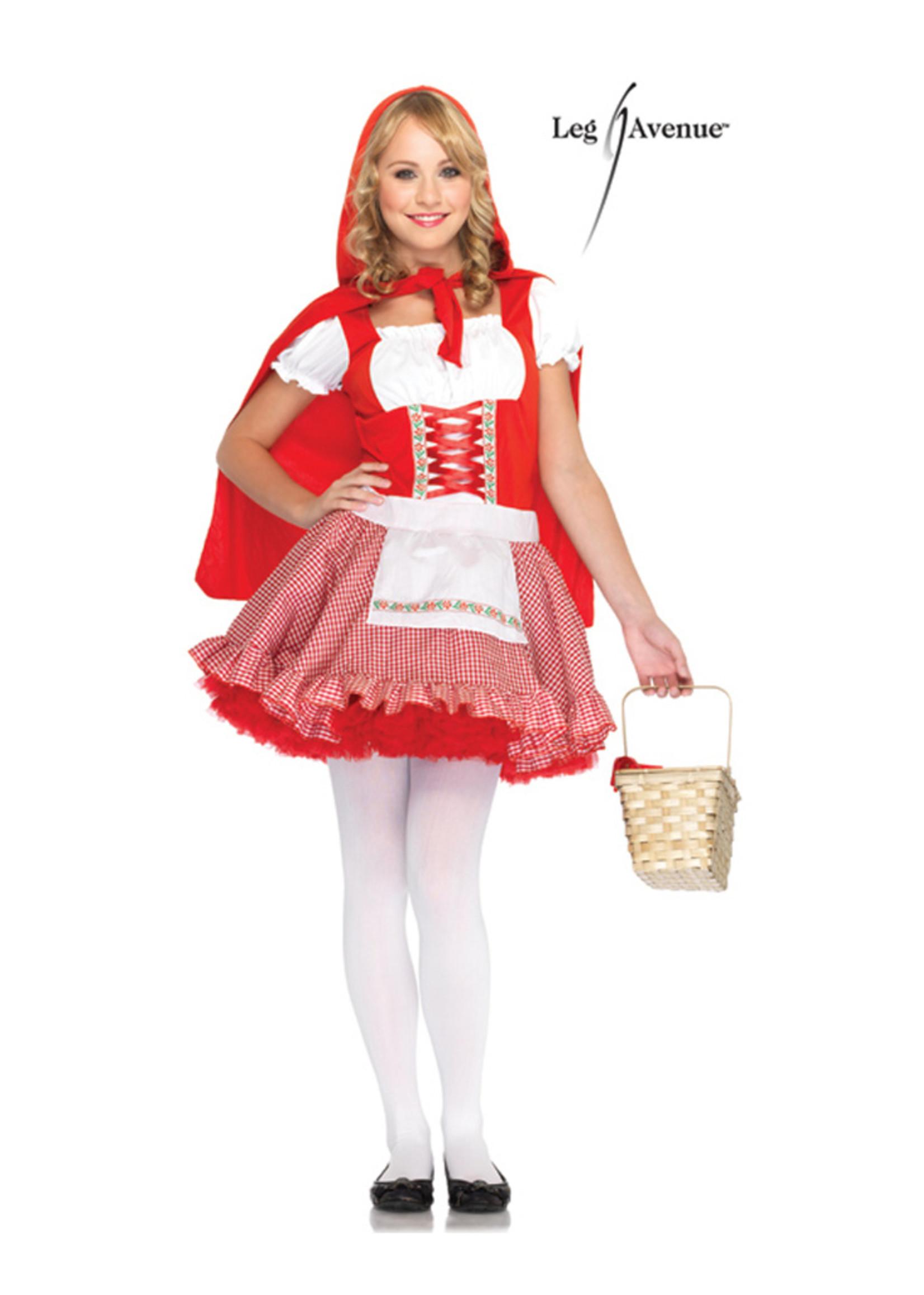 Lil' Miss Red Costume - Junior