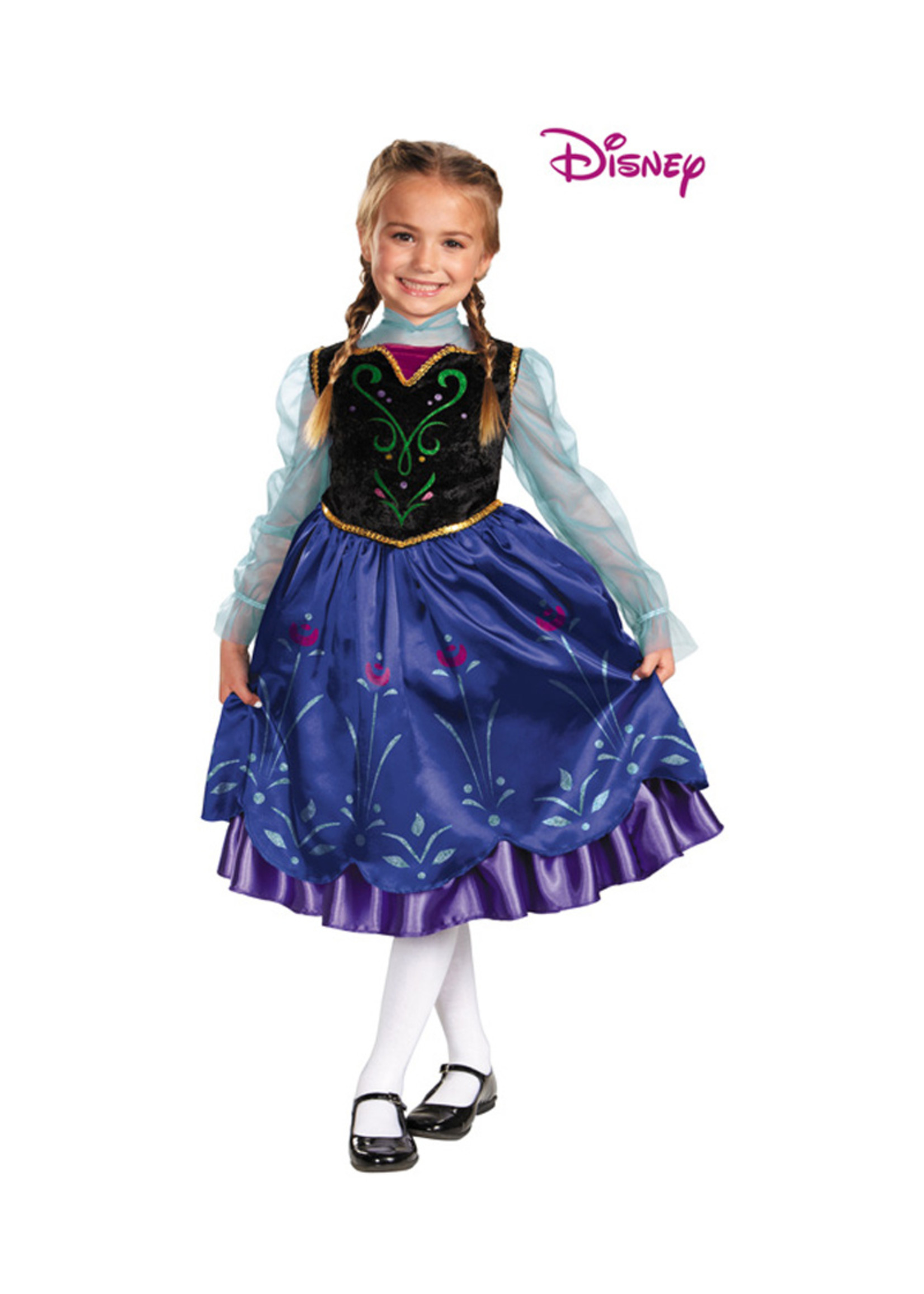 Anna Deluxe Costume - Girls