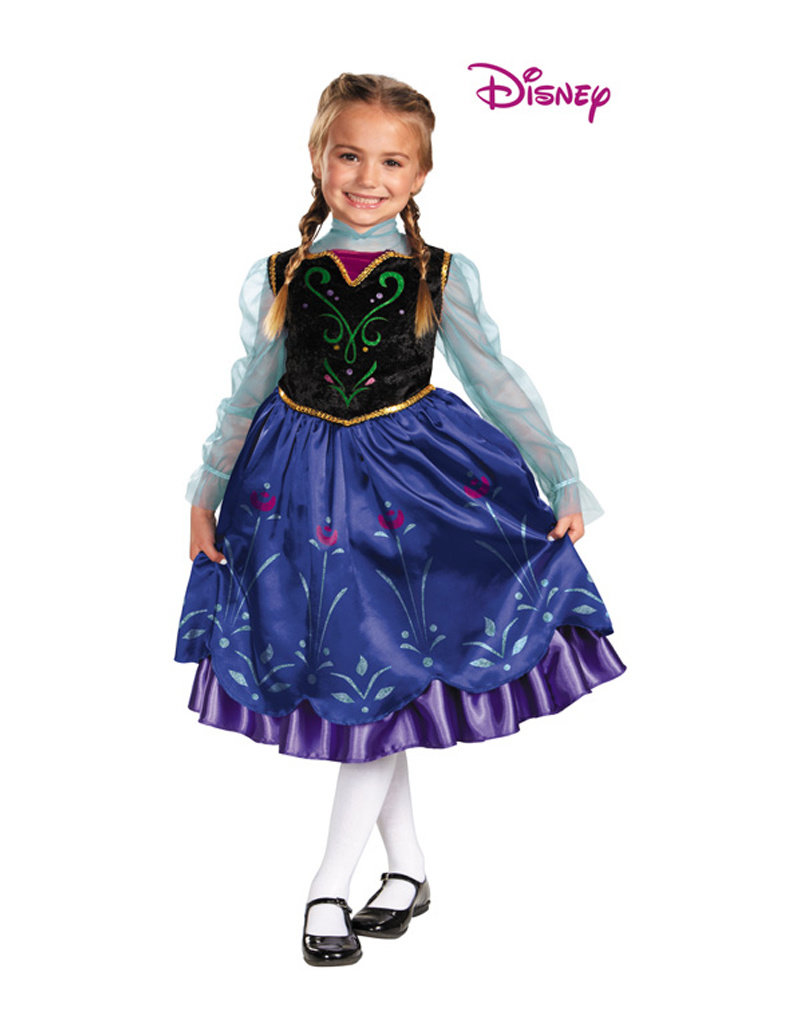 Anna Deluxe Costume - Girls