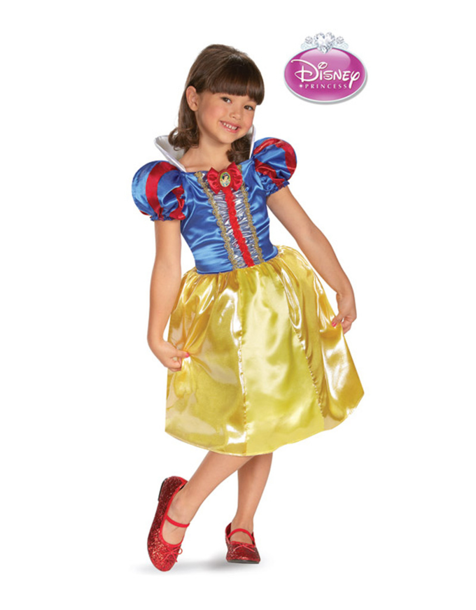 Snow White Sparkle Classic Costume - Girls