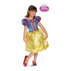 Snow White Sparkle Classic Costume - Girls