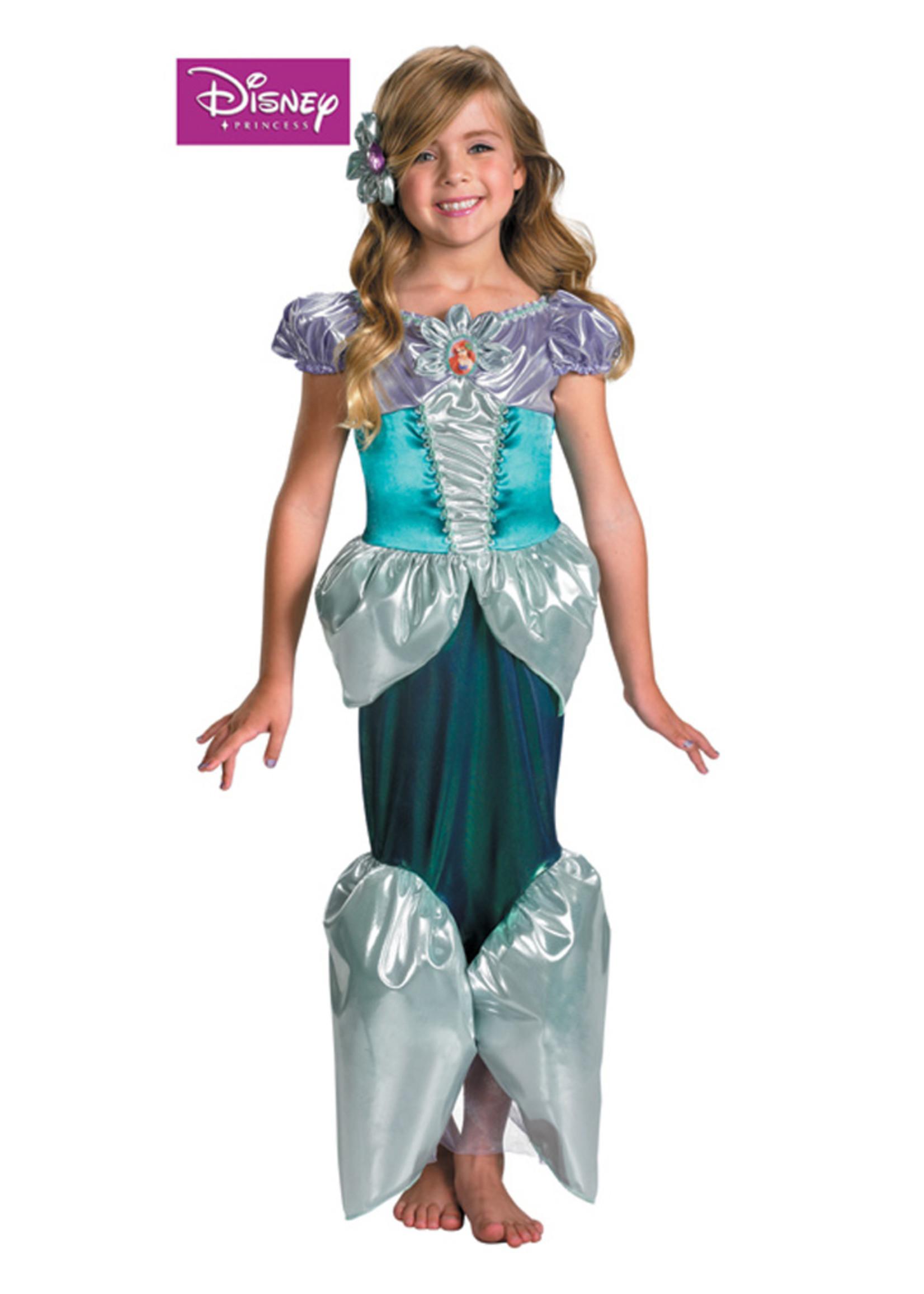 Ariel Shimmer Deluxe Costume - Girls