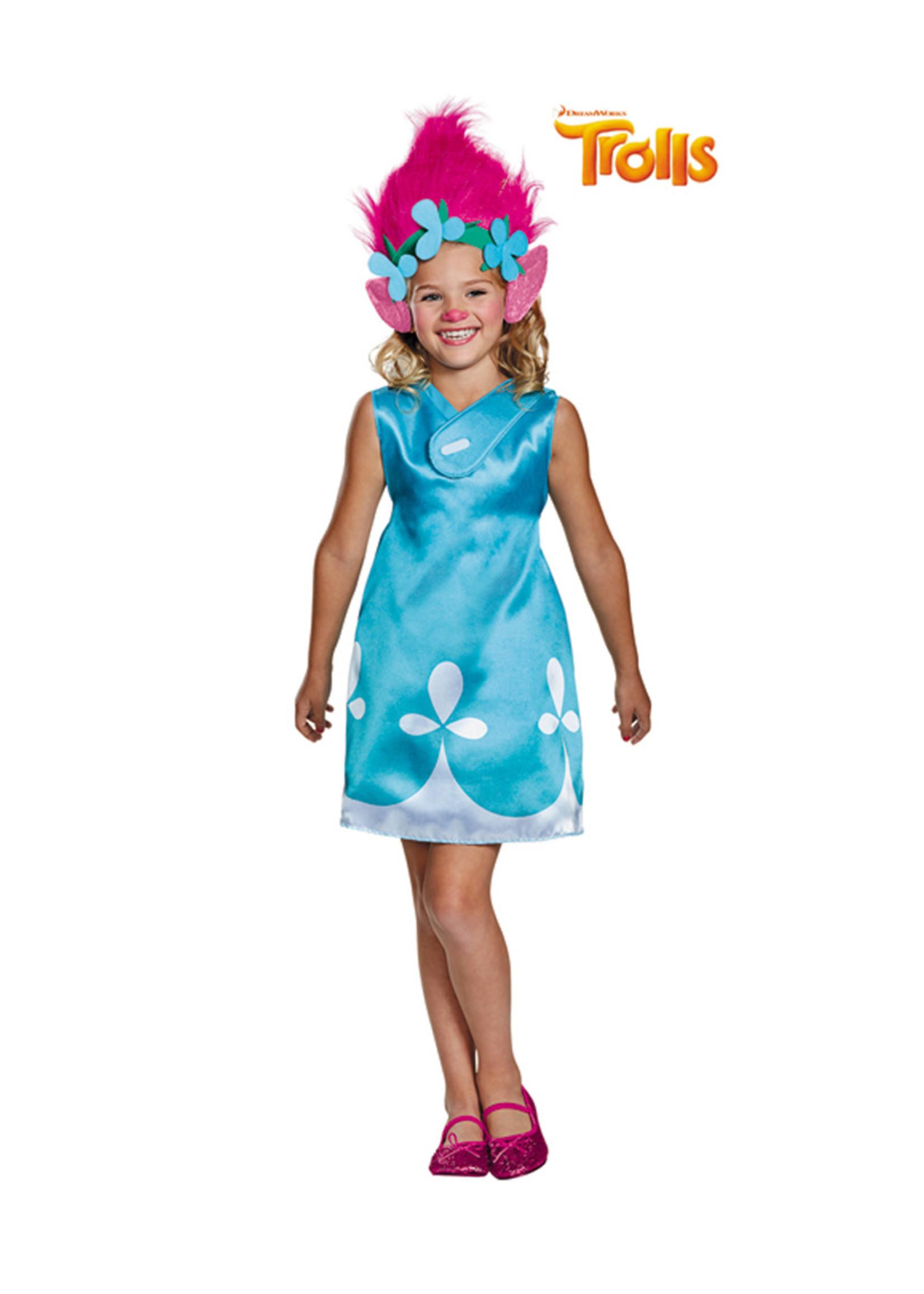 Poppy - Trolls Costume - Girls