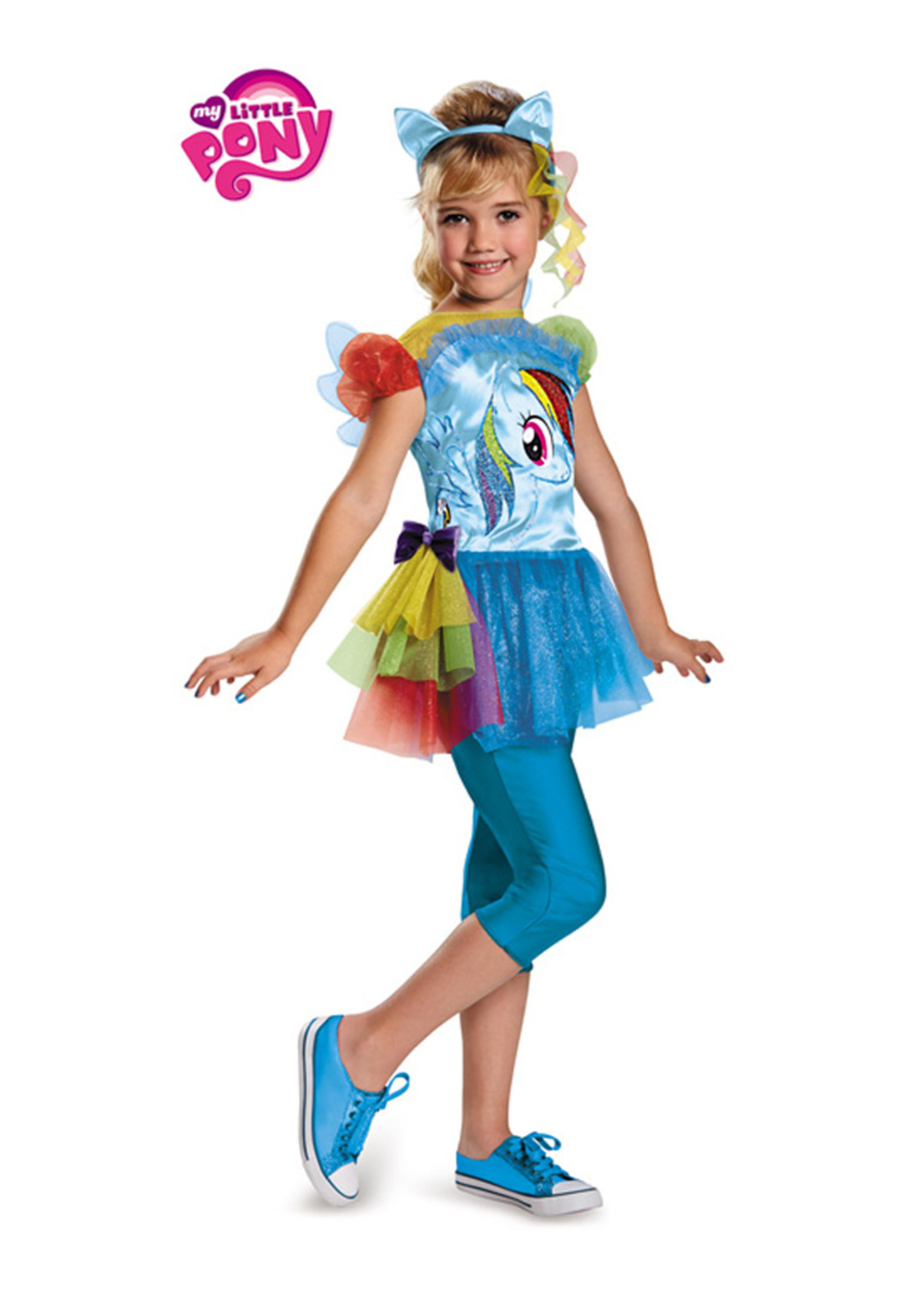 Rainbow Dash Costume - Girls