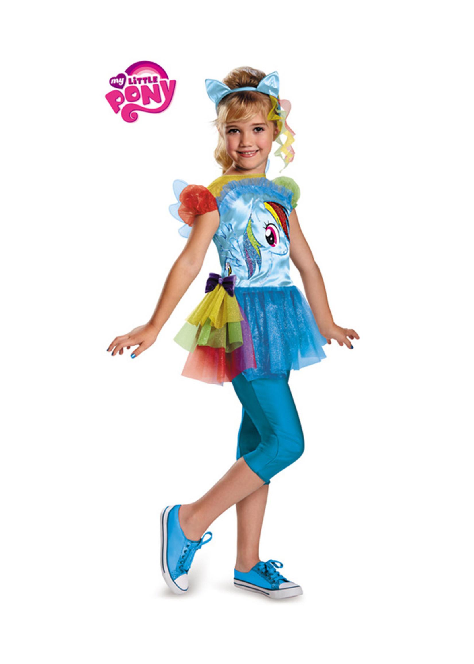 Rainbow Dash Costume - Girls