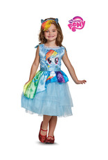 Rainbow Dash Dress Costume - Girls