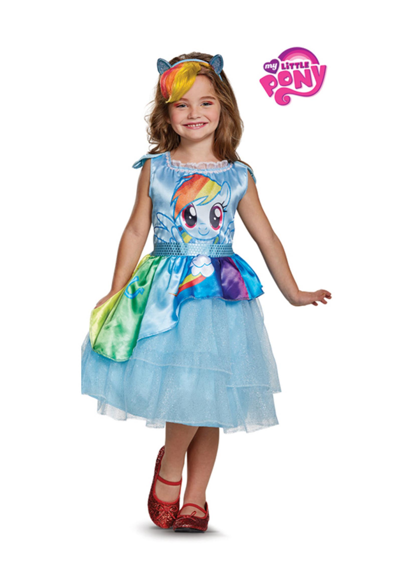 Rainbow Dash Dress Costume - Girls
