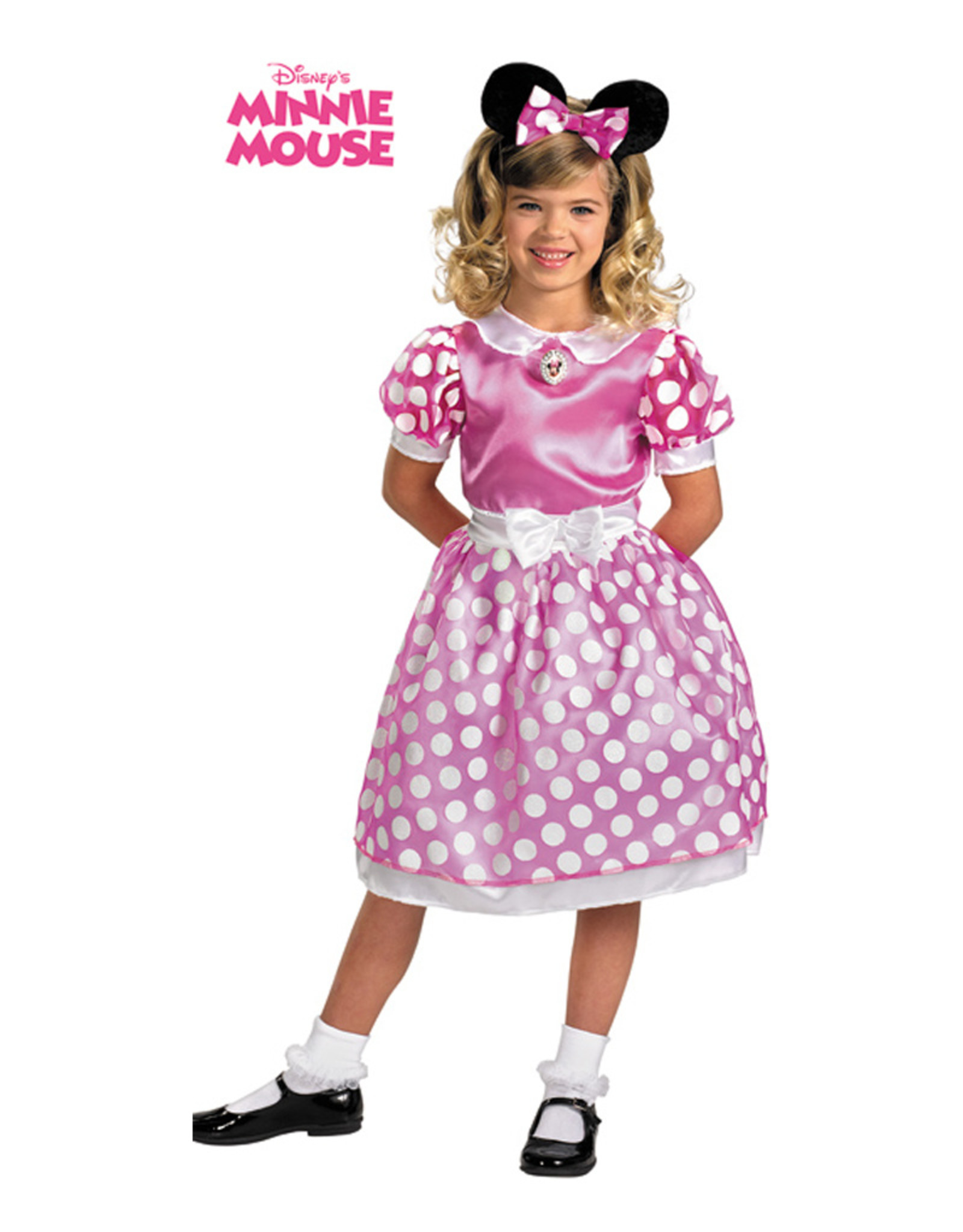 Minnie Mouse Pink Costume - Girls
