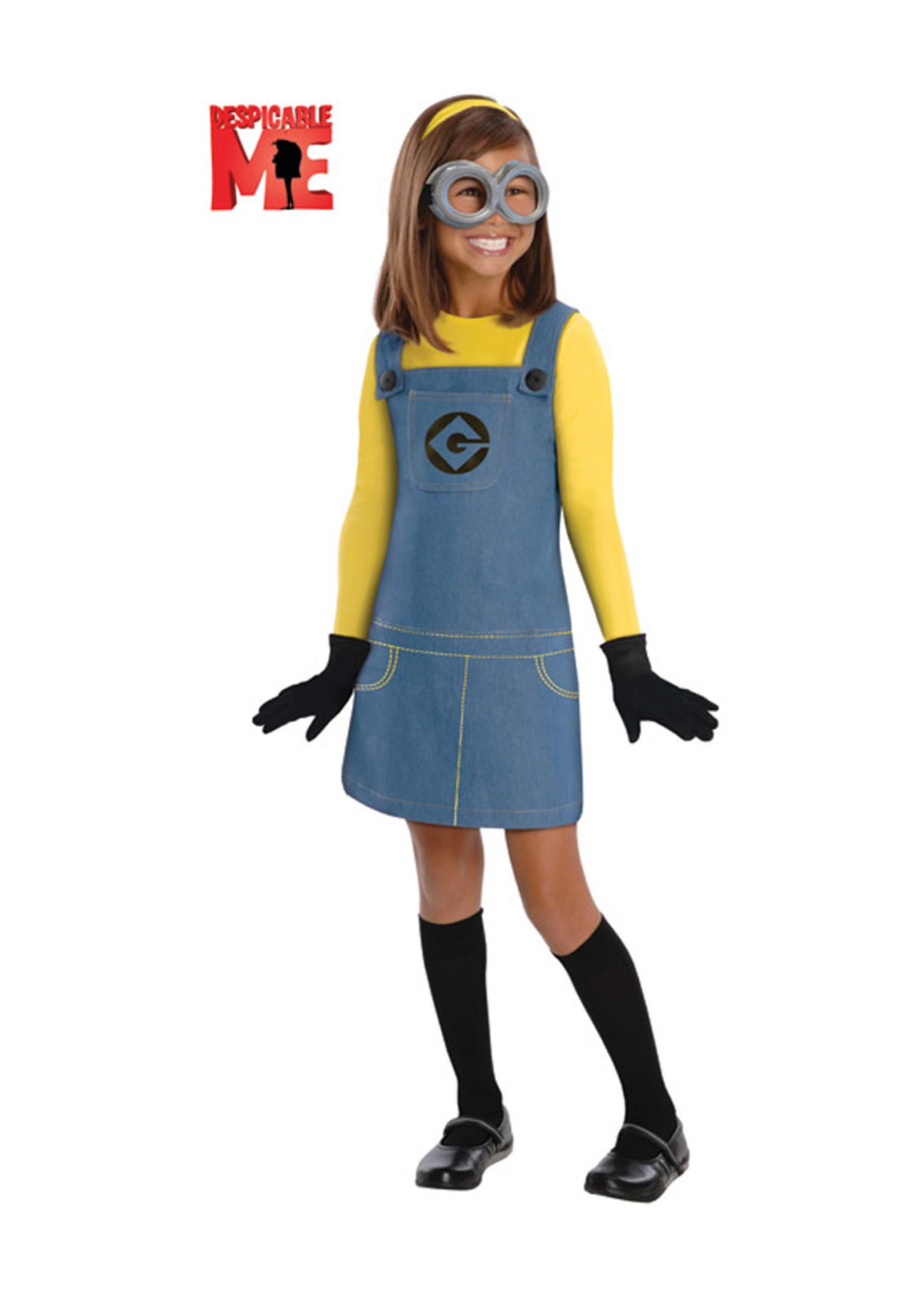 Minion Girl Costume - Girls