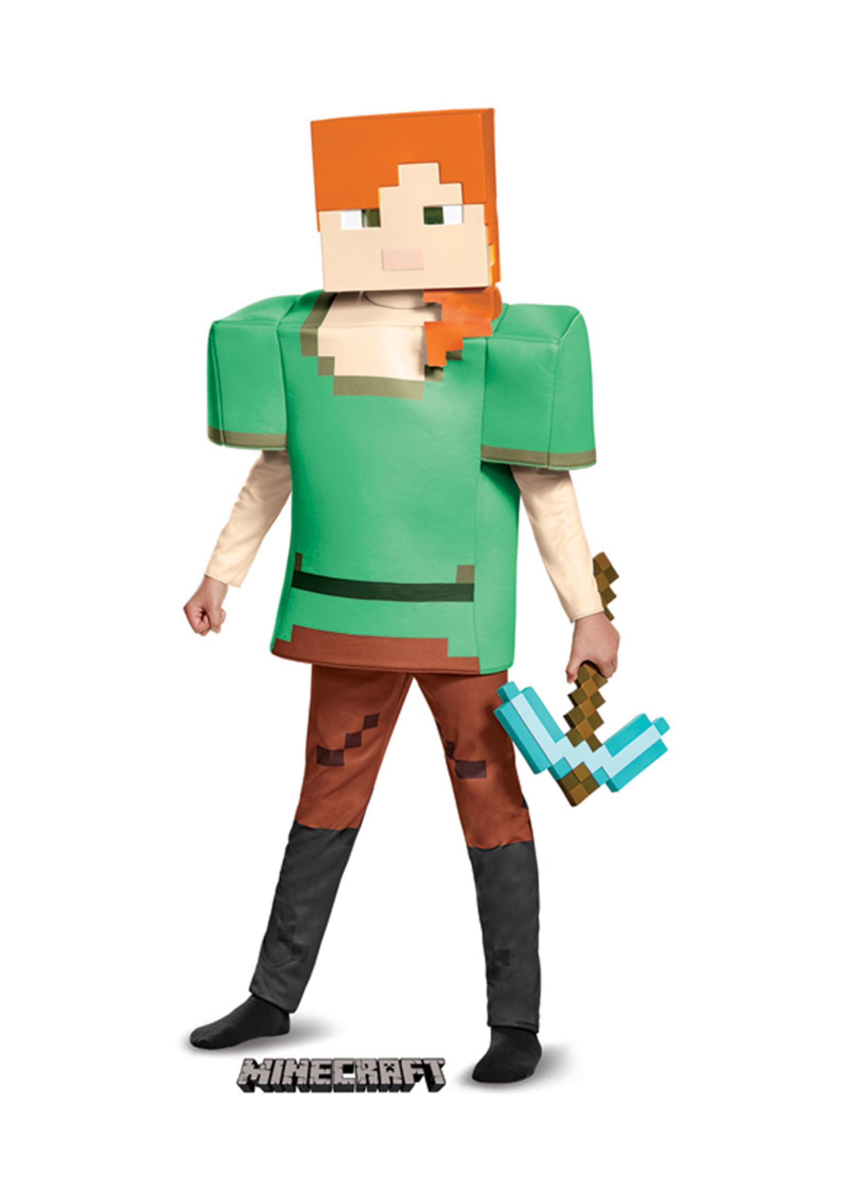 Alex - Minecraft Costume - Girls