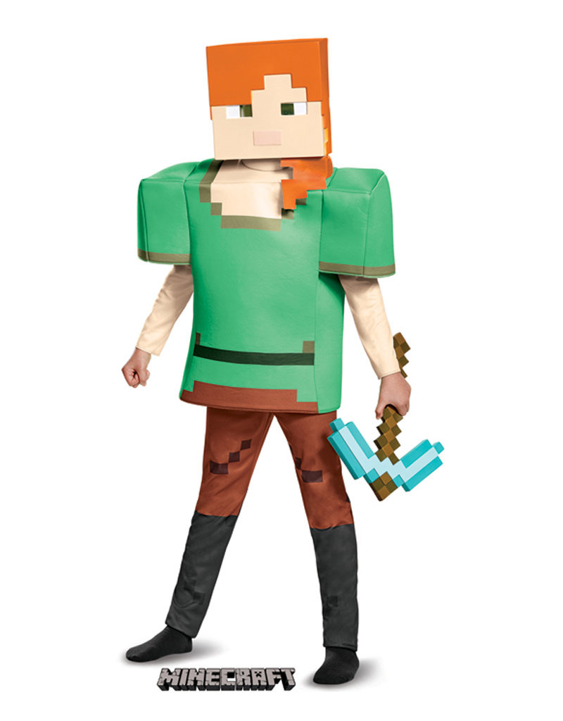 Alex - Minecraft Costume - Girls