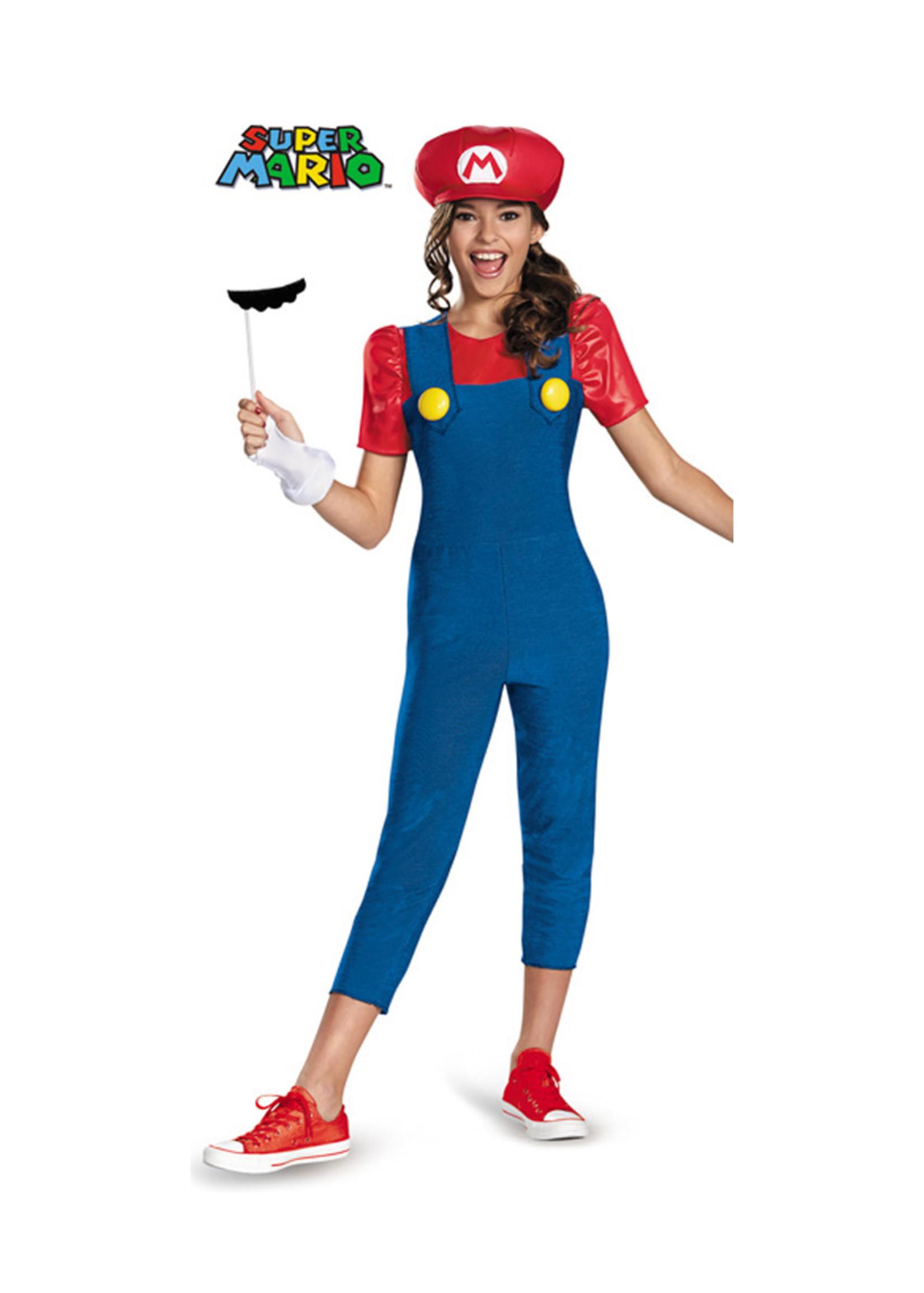 Mario Costume - Girls