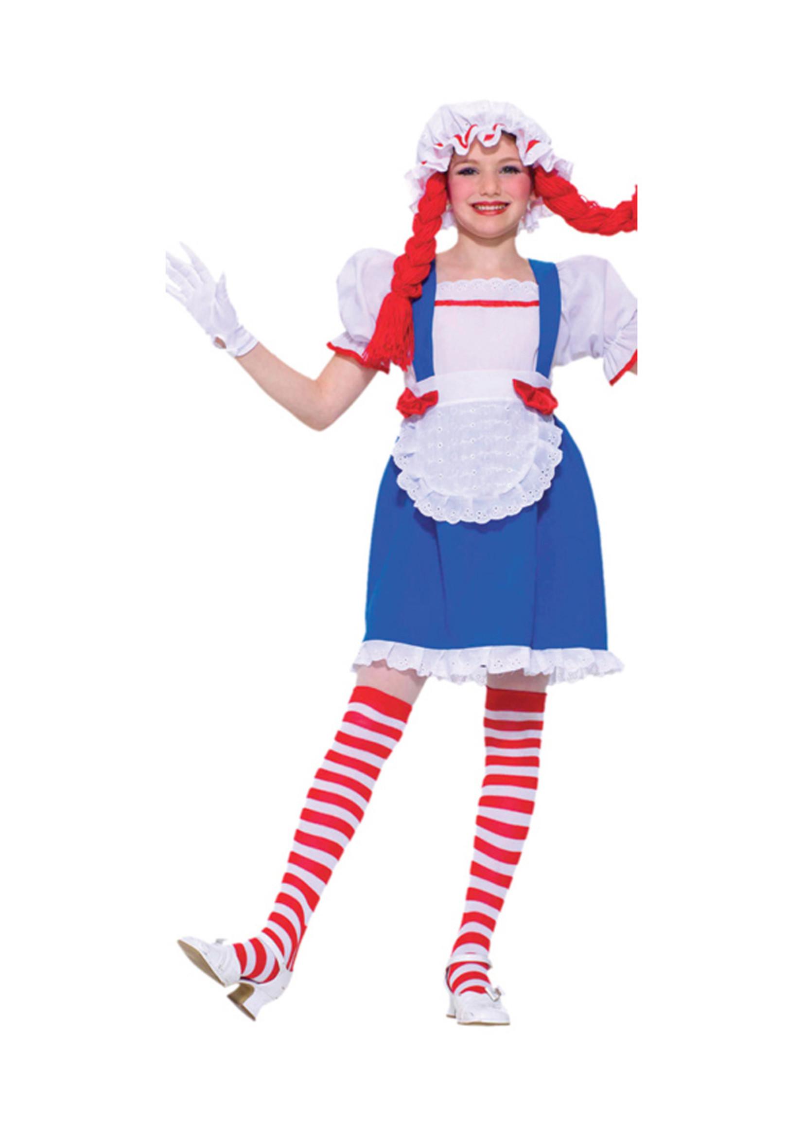 Rag Doll Costume - Girls