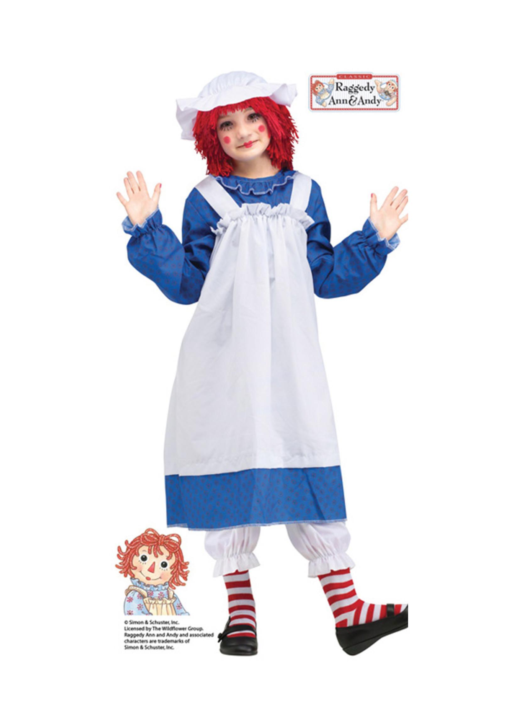 Raggedy Ann Costume - Girls
