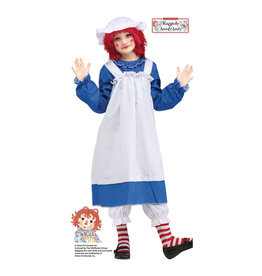 Raggedy Ann Costume - Girls