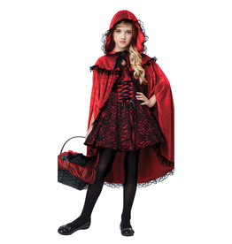 Red Riding Hood Deluxe Costume - Girls