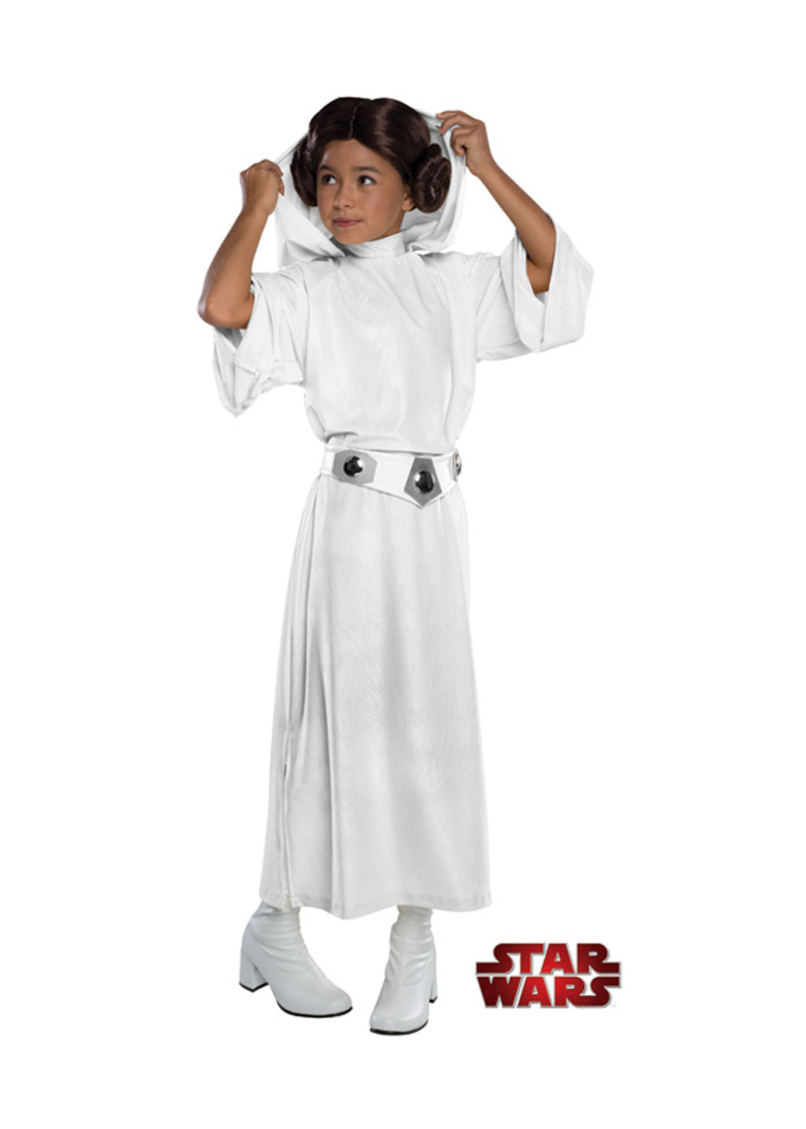 Princess Leia Deluxe Costume - Girls