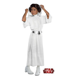 Princess Leia Deluxe Costume - Girls